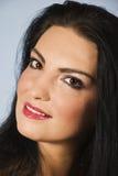 красивейший коричневый цвет eyes повелительница Стоковое Фото