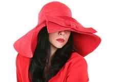 красивейший красный цвет повелительницы шлема стоковая фотография rf