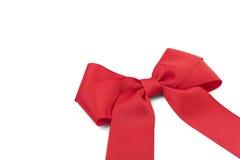 красивейший красный цвет смычка Стоковое Изображение RF