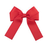 красивейший красный цвет смычка Стоковые Изображения RF