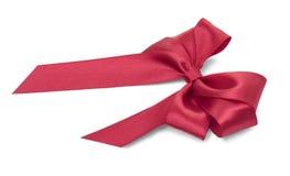красивейший красный цвет смычка Стоковая Фотография RF