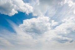 красивейший кумулюс облаков Стоковая Фотография RF