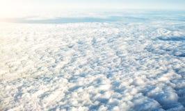 красивейший кумулюс облаков Стоковые Фото