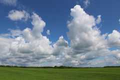 красивейший кумулюс облаков Стоковое Изображение RF