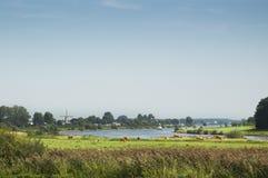 красивейший ландшафт Голландии Стоковые Изображения
