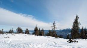 красивейший ландшафт гористый Стоковое Изображение