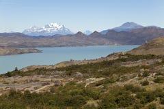 Красивейший ландшафт на Torres del Paine Стоковые Изображения RF