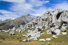 Красивейший ландшафт, Новая Зеландия Стоковые Изображения