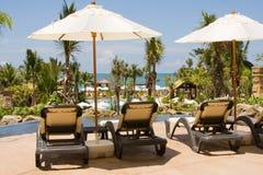 Красивейший ландшафт пляжа в Таиланде Стоковое Изображение RF