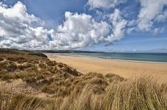 Красивейший ландшафт пляжа Корнуэлл стоковое изображение