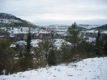 красивейший ландшафт снежный Стоковые Изображения