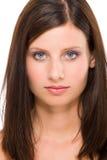 красивейший модельный усмехаться портрета Стоковое Фото