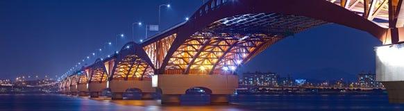 красивейший мост Корея южная Стоковые Изображения RF