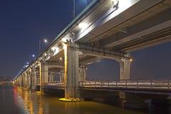 красивейший мост Корея южная Стоковое Изображение