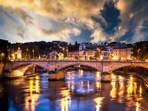 красивейший мост Стоковая Фотография RF
