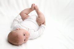 Младенца задняя часть дальше Стоковые Фотографии RF