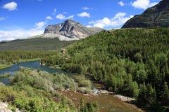 красивейший национальный парк ледника Стоковые Изображения