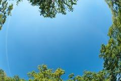 красивейший небесный ландшафт t рамки Стоковые Изображения RF