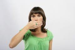 красивейший носить кольца девушки Стоковые Фотографии RF