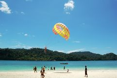 красивейший остров тропический Стоковые Фотографии RF