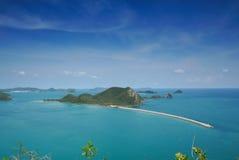красивейший остров Стоковая Фотография
