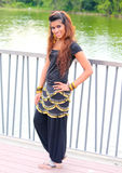 красивейший пакистанец девушки Стоковые Изображения