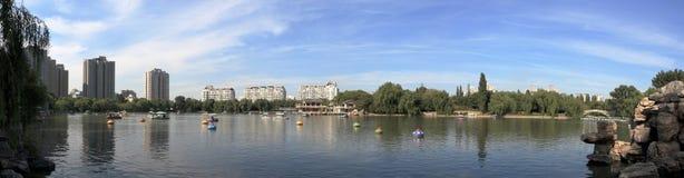красивейший парк ландшафта Стоковое Фото