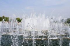 красивейший парк фонтана Стоковая Фотография