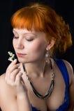 красивейший пахнуть повелительницы цветков Стоковая Фотография
