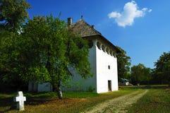 красивейший пейзаж деревенского дома Стоковые Фотографии RF