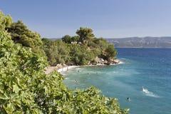 Красивейший пляж Стоковое Изображение