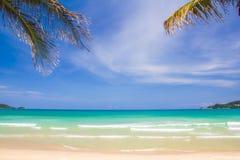 Красивейший пляж Стоковые Изображения RF