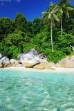 Красивейший пляж Стоковые Фотографии RF