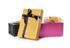 красивейший подарок коробок Стоковые Изображения