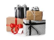 красивейший подарок коробок Стоковое Изображение RF