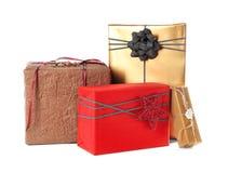 красивейший подарок коробок Стоковые Фотографии RF