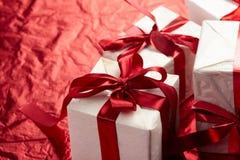 красивейший подарок коробок Стоковые Фото
