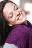 красивейший портрет брюнет Стоковая Фотография