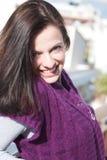 красивейший портрет брюнет Стоковые Фото