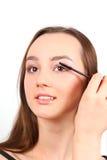 красивейший портрет девушки брюнет Стоковые Фото