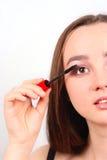 красивейший портрет девушки брюнет Стоковое фото RF