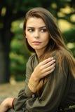 красивейший портрет девушки крупного плана Стоковая Фотография RF