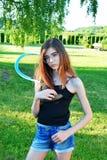 красивейший портрет девушки подростковый Стоковые Фотографии RF