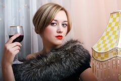 красивейший портрет девушки сексуальный Стоковое Изображение RF