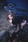 красивейший портрет девушки сексуальный Стоковые Изображения RF