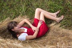 красивейший портрет девушки Стоковое Изображение