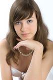 красивейший портрет девушки Стоковые Изображения RF