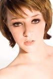 красивейший портрет девушки Стоковая Фотография