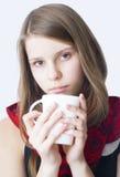 красивейший портрет девушки подростковый Стоковое Изображение