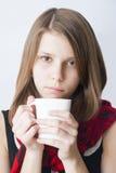 красивейший портрет девушки подростковый Стоковые Изображения RF